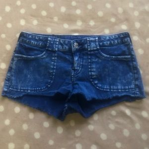 True Religion Cut Off Concept Blue Size 29 NWOT